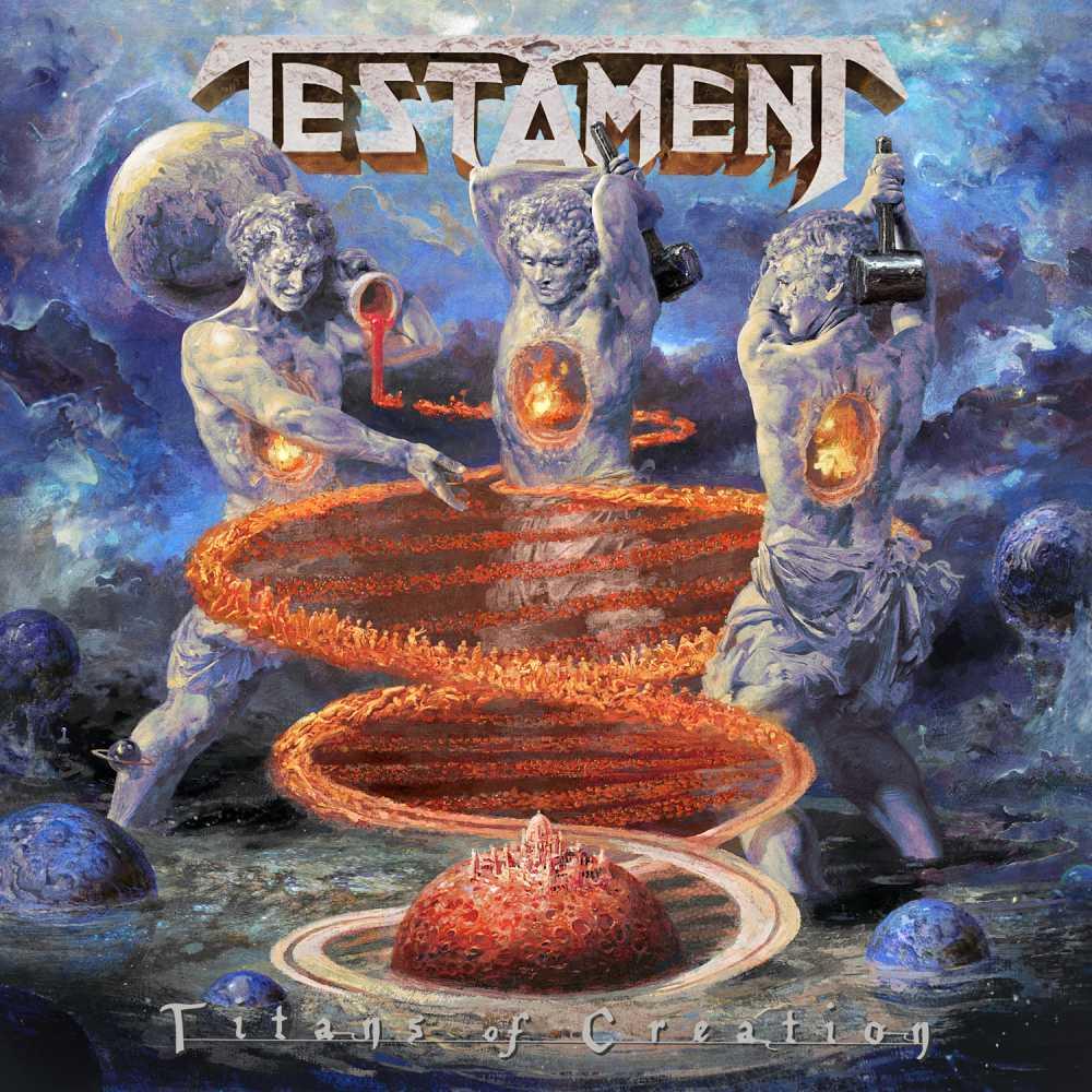 testament titans of creation album coverart