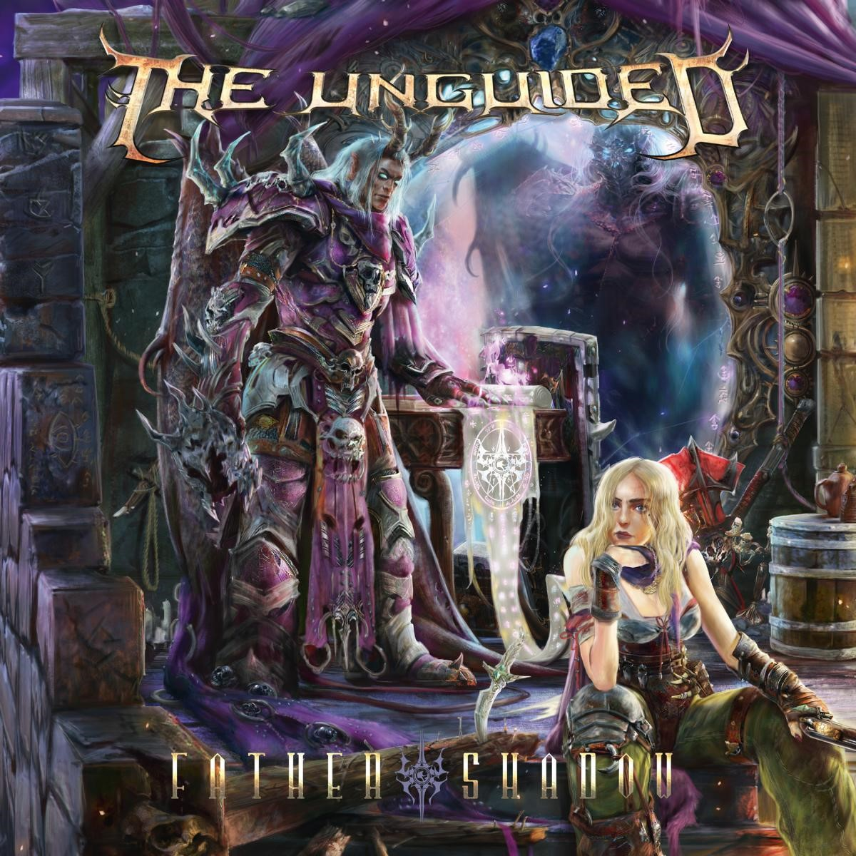 the unguided father shadow album cover