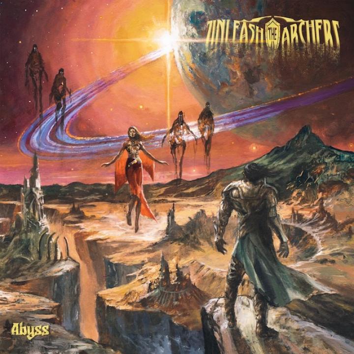 unleash the archers abyss album coverart