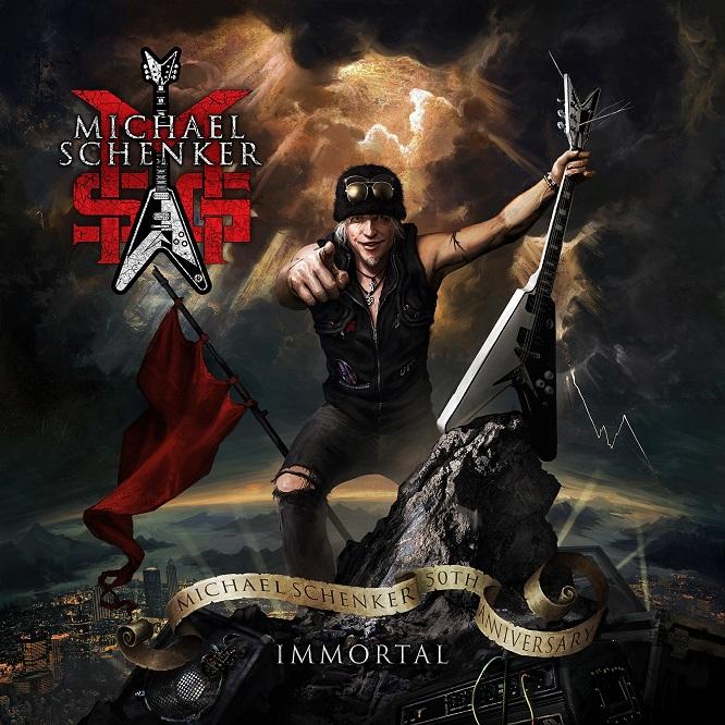 msg michael schenker group immortal album cover