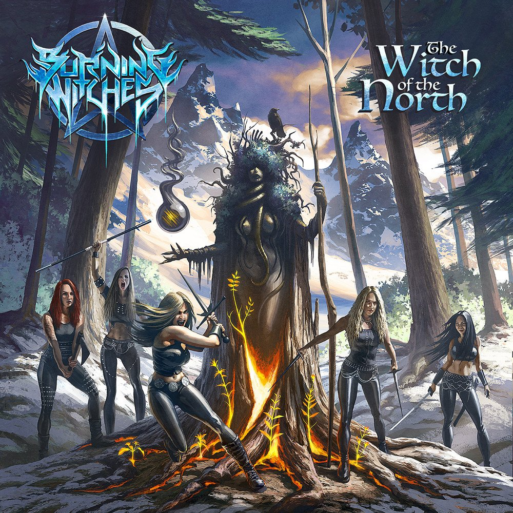 burning witches witch of the north album cover