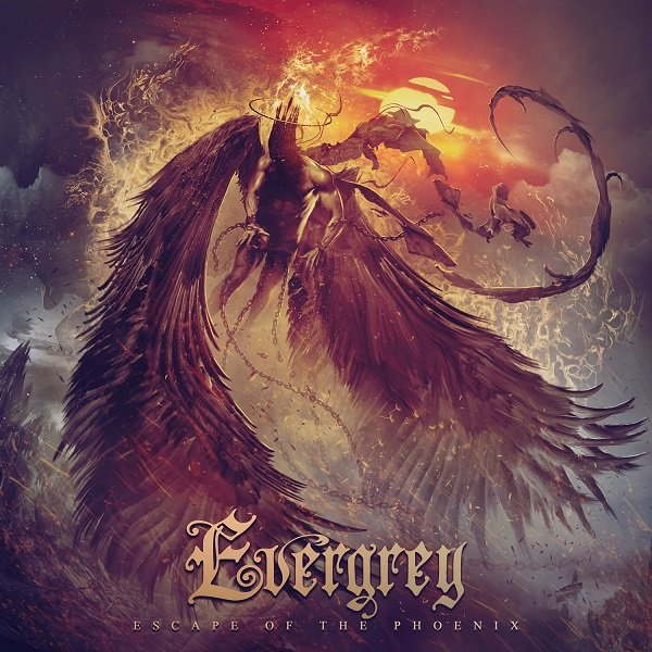 evergrey escape of the phoenix album cover