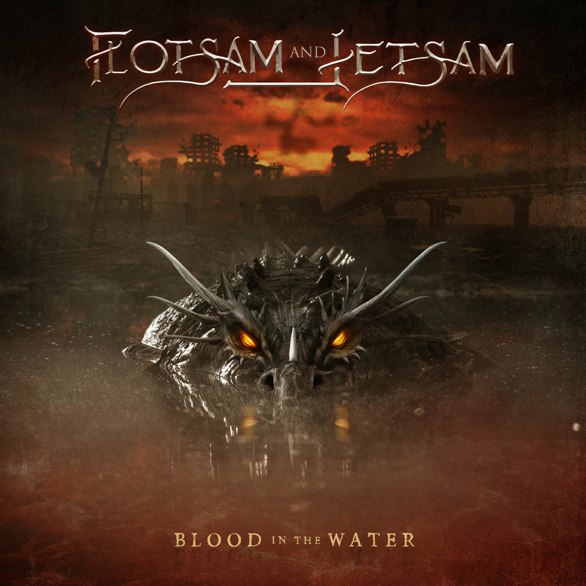 flotsam and jetsam blood in the water album cover