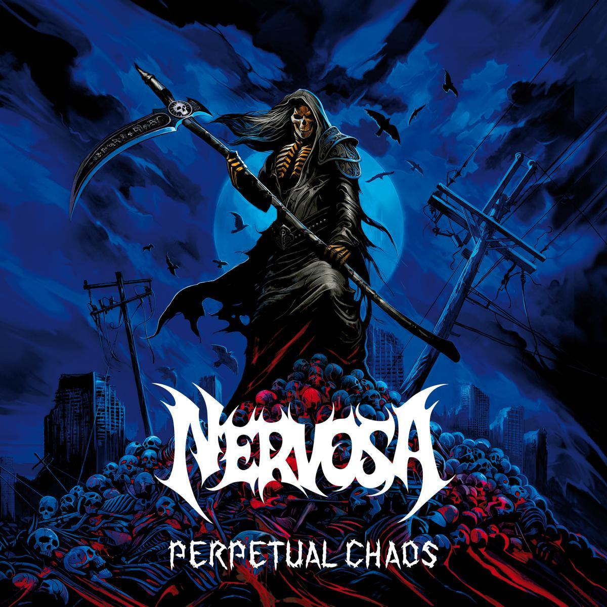 nervosa perpetual chaos album cover