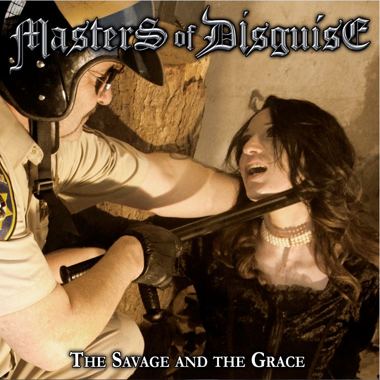 masters of disguise the savage and the grace cover