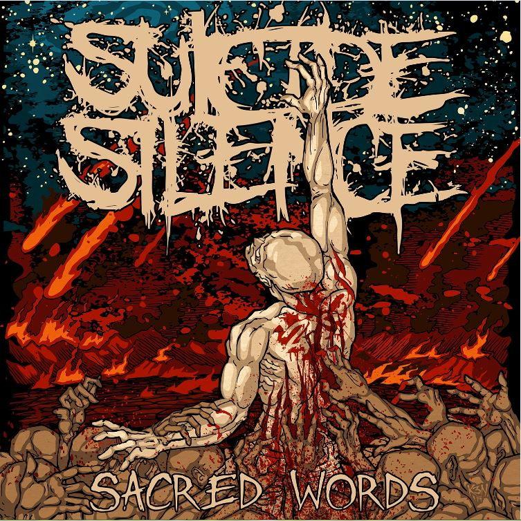 suicide silence sacred words cover