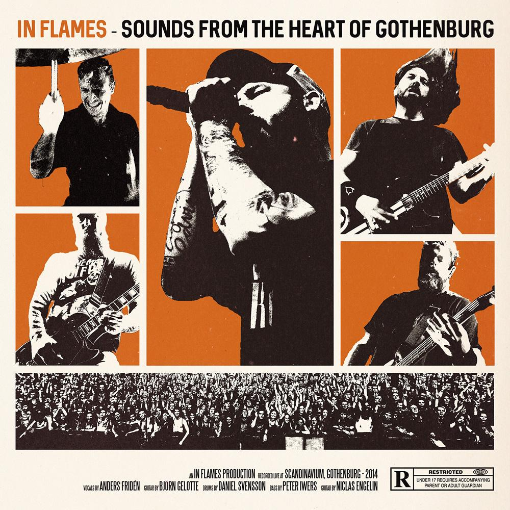 in flames sounds from the heart of gothenburg cover