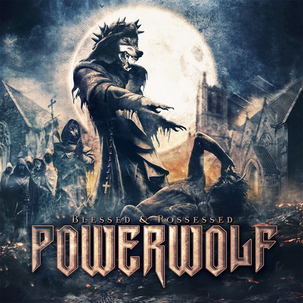 powerwolf blessed and possessed cover