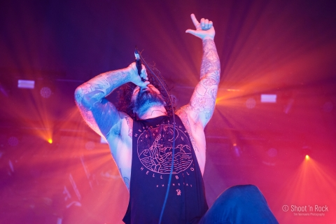 As I Lay Dying - Ancienne Belgique